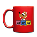 """Lab Rat Periodic Table"" (blonde) - Mug red / One size - LabRatGifts - 1"