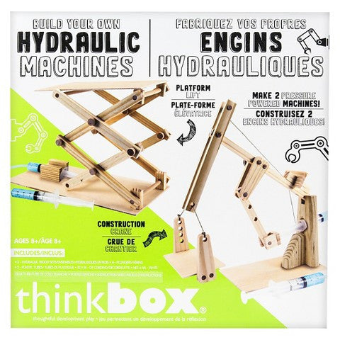 """Hydraulics Machines"" - Science Kit  - LabRatGifts - 1"