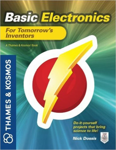 """Basic Electronics for Tomorrow's Inventors"" - Book  - LabRatGifts"