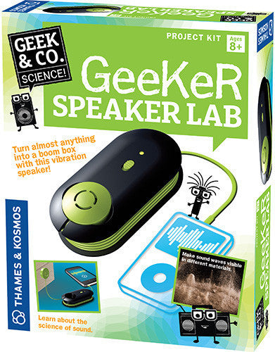 """Geeker Speaker Lab"" - Science Kit  - LabRatGifts - 1"