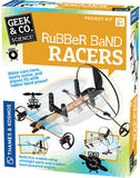 """Rubber Bands Racers"" - Science Kit  - LabRatGifts - 1"