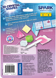 """3D Crystal Shapes"" - Experiment Kit  - LabRatGifts - 2"