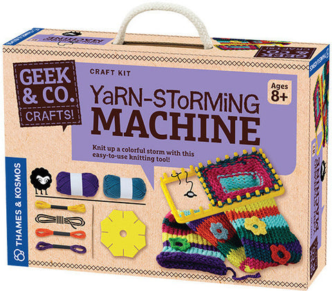 """Yarn-Storming Machine"" - Craft Kit  - LabRatGifts - 1"