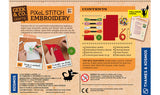 """Pixel Stitch Embroidery"" - Craft Kit  - LabRatGifts - 2"