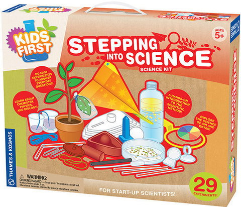 """Stepping into Science"" - Science Kit  - LabRatGifts - 1"