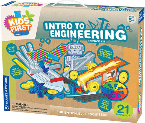 """Intro to Engineering"" - Science Kit  - LabRatGifts - 1"