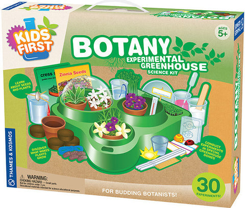 """Botany: Experimental Greenhouse"" - Science Kit  - LabRatGifts - 1"