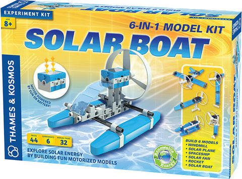 """Solar Boat"" - Science Kit  - LabRatGifts - 1"