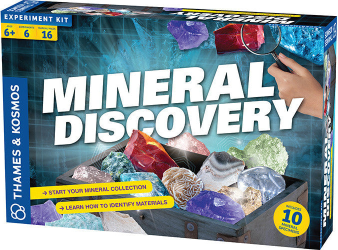 """Mineral Discovery"" - Science Kit  - LabRatGifts - 1"