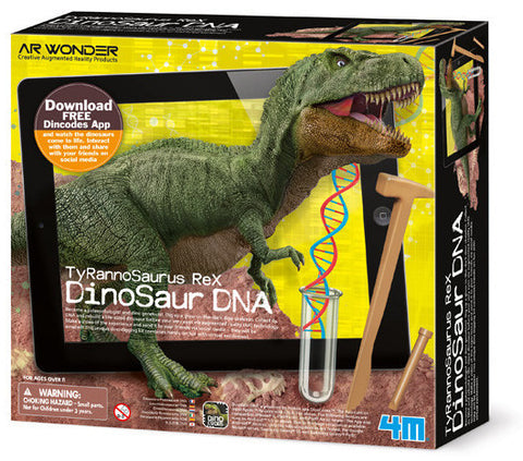 """T-Rex Dinosaur DNA"" - Science Kit  - LabRatGifts - 1"