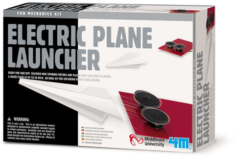 """Electric Plane Launcher"" - Science Kit  - LabRatGifts - 1"