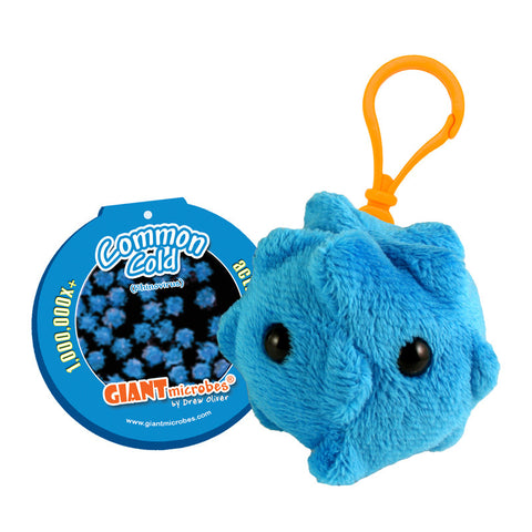 Common Cold (Rhinovirus) - GIANTmicrobes® Keychain  - LabRatGifts