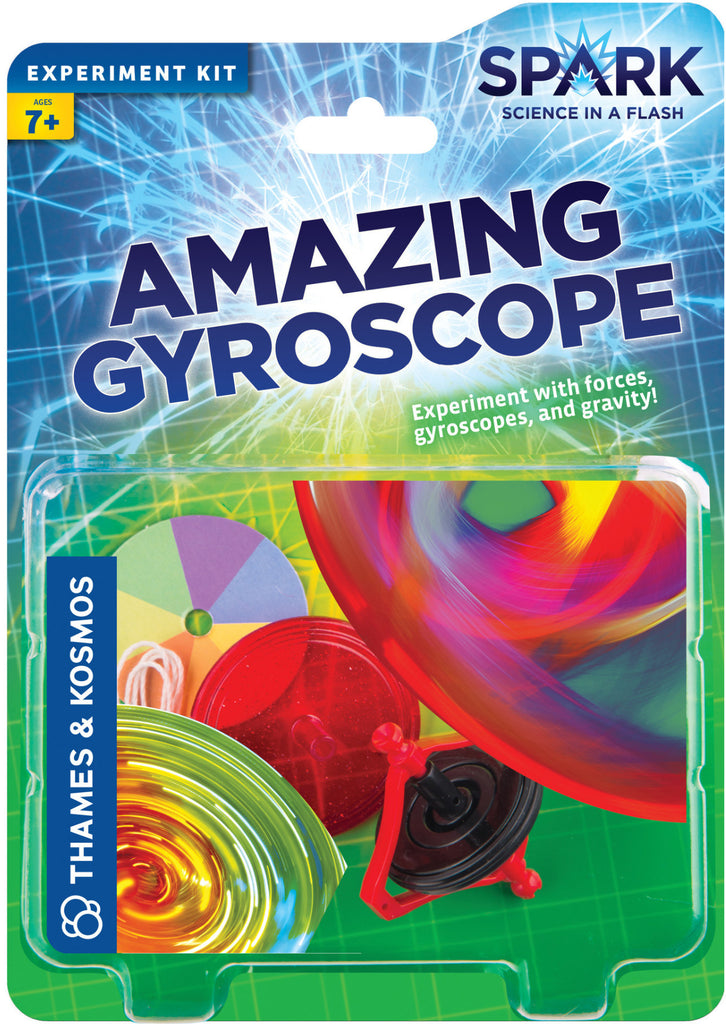"""Amazing Gyroscope"" - Experiment Kit  - LabRatGifts - 1"