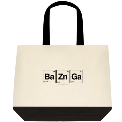 """BaZnGa"" - Tote Bag Default Title - LabRatGifts - 1"