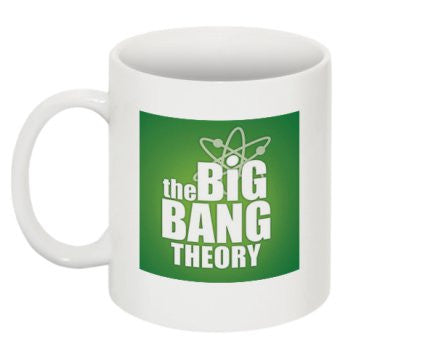 """Big Bang Theory"" (green) - Mug  - LabRatGifts - 1"