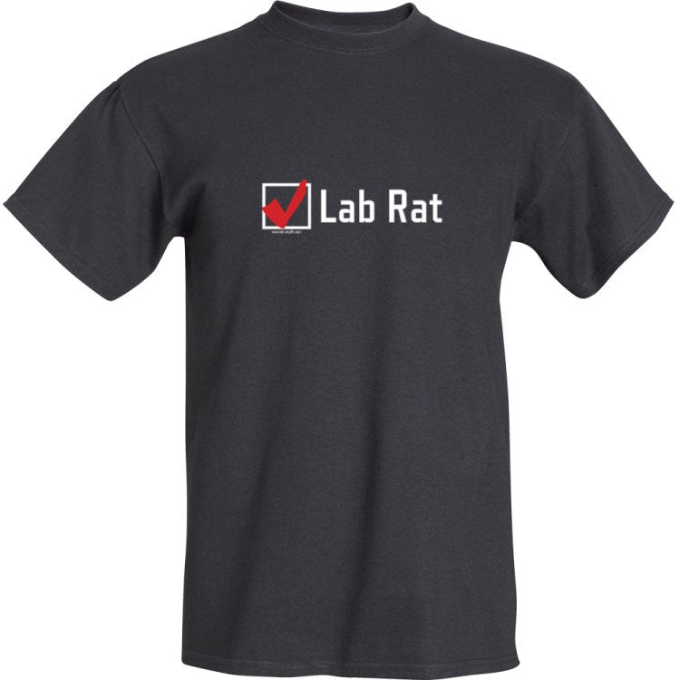 Check Box Lab Rat! T-Shirt Small - LabRatGifts - 2