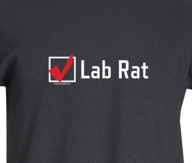 Check Box Lab Rat! T-Shirt  - LabRatGifts - 1
