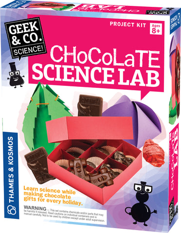 """Chocolate Science Lab"" - Science Kit  - LabRatGifts - 1"