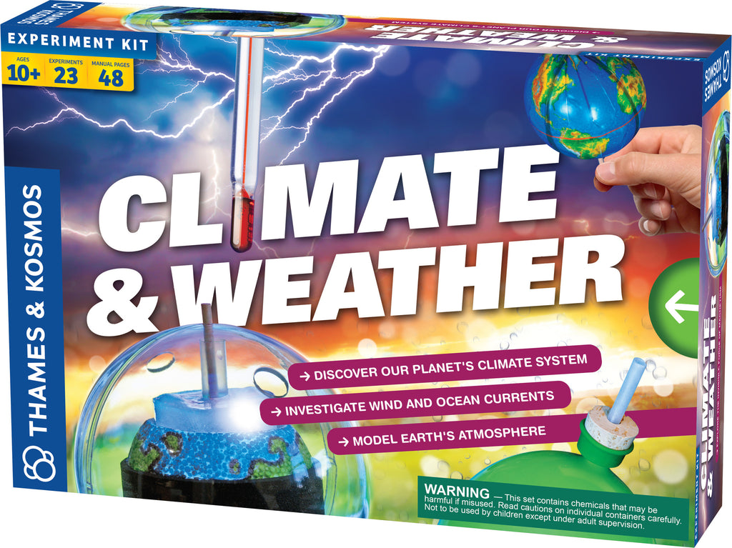 """Climate & Weather"" - Science Kit  - LabRatGifts - 1"