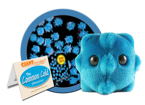 Common Cold (Rhinovirus) - GIANTmicrobes® Plush Toy Default Title - LabRatGifts - 1