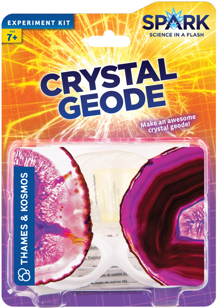 """Crystal Geode"" - Science Kit  - LabRatGifts - 1"