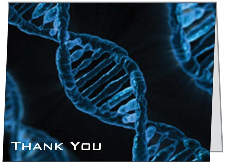 """DNA"" - Thank You Card Default Title - LabRatGifts - 1"