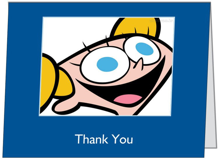 """Dee Dee"" - Thank You Card Default Title - LabRatGifts - 1"