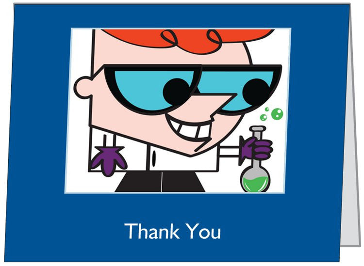 """Dexter's Laboratory"" - Thank You Card Default Title - LabRatGifts - 1"