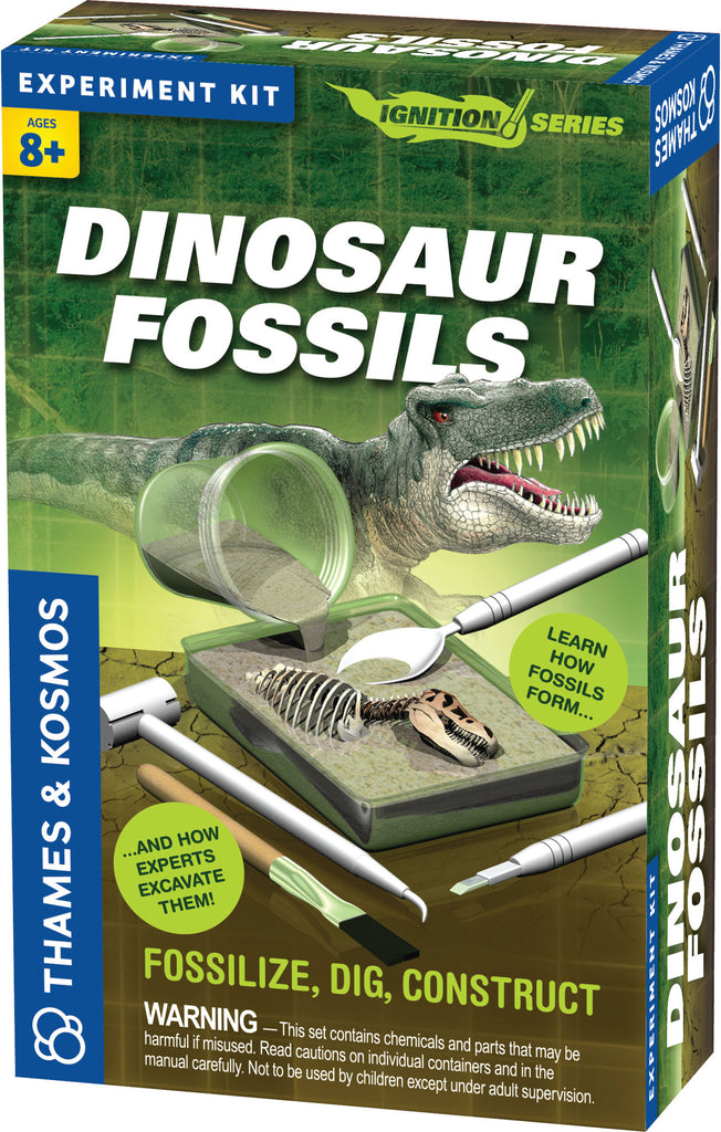 """Dinosaur Fossils"" - Science Kit  - LabRatGifts - 1"