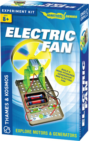 """Electric Fan"" - Science Kit  - LabRatGifts - 1"