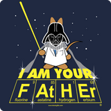 """I Am Your Father"" - Women's T-Shirt  - LabRatGifts - 2"