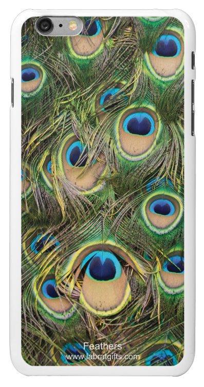 """Feathers"" - iPhone 6/6s Plus Case Default Title - LabRatGifts - 2"