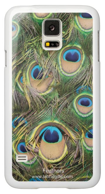 """Feathers"" - Samsung Galaxy S5 Case Default Title - LabRatGifts - 2"