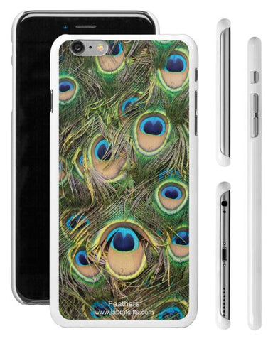 """Feathers"" - iPhone 6/6s Plus Case  - LabRatGifts - 1"