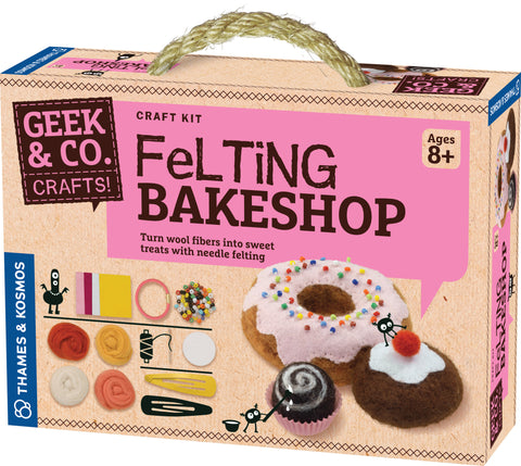 """Felting Bakeshop"" - Craft Kit  - LabRatGifts - 1"