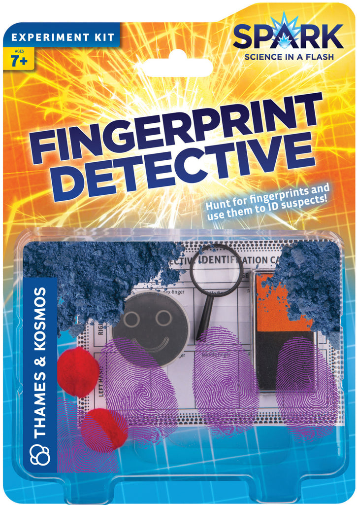 Exciting Valuable Fingerprint Detective Science Kit Labratgifts Com