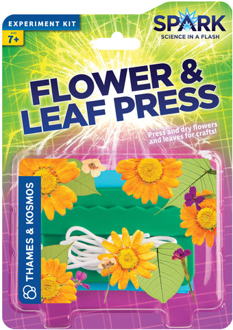 """Flower & Leaf Press"" - Science Kit  - LabRatGifts - 1"