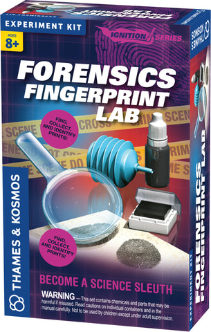 """Forensics Fingerprint Lab"" - Science Kit  - LabRatGifts - 1"