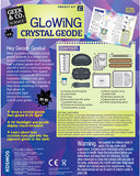 """Glowing Crystal Geode"" - Science Kit  - LabRatGifts - 2"