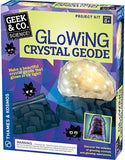 """Glowing Crystal Geode"" - Science Kit  - LabRatGifts - 1"