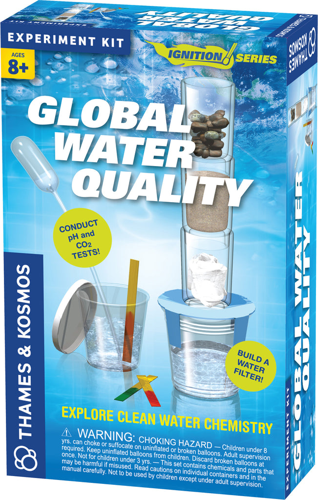 """Global Water Quality"" - Science Kit  - LabRatGifts - 1"
