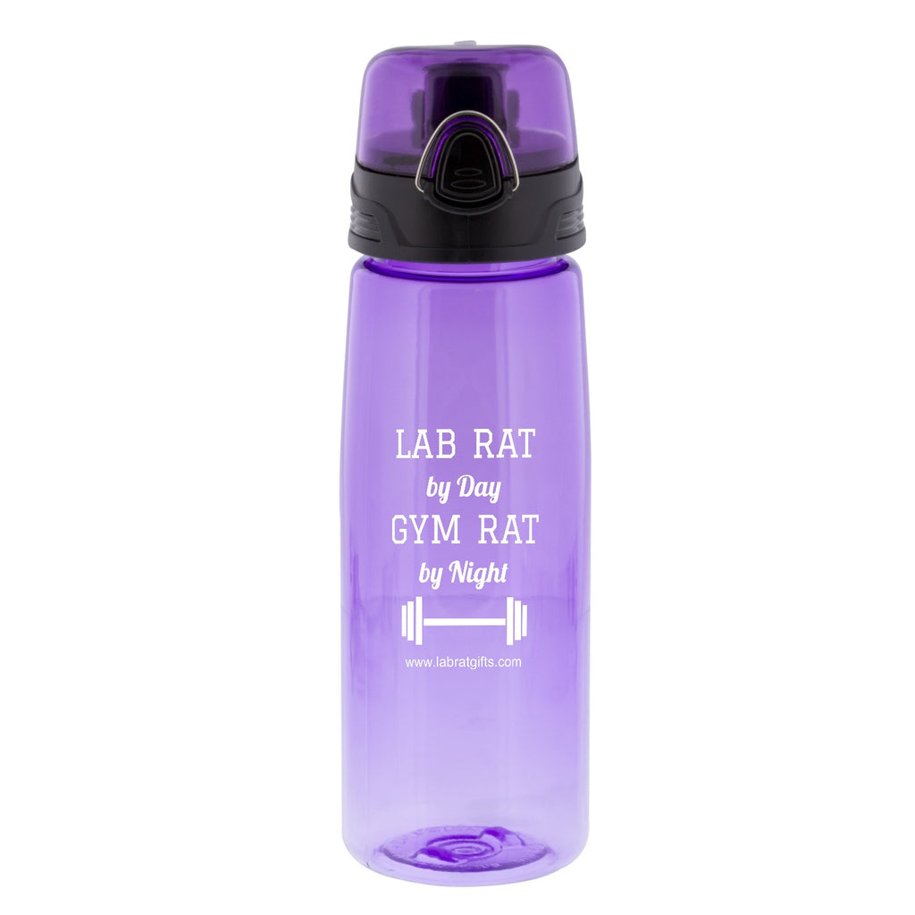 """Gym Rat"" - 25oz Water Bottle  - LabRatGifts"