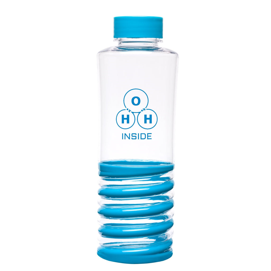"""H2O Inside"" - 24oz Water Bottle  - LabRatGifts"