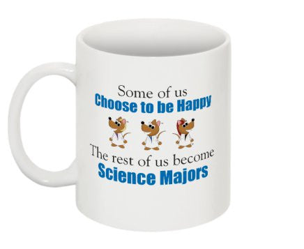 """Science Majors"" - Mug Default Title - LabRatGifts - 1"