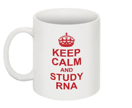 """Keep Calm and Study RNA"" - Mug Default Title - LabRatGifts - 1"