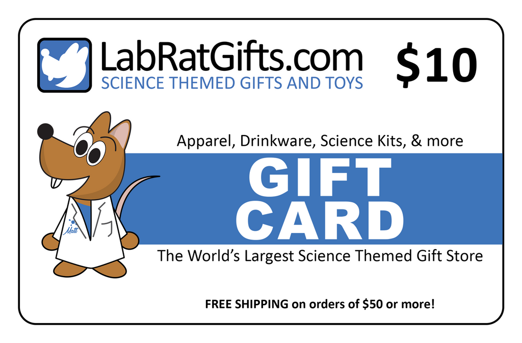 Digital LabRatGifts.com Gift Card $10.00 - LabRatGifts - 1
