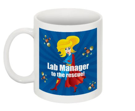 """Lab Manager to the Rescue"" - Mug Default Title - LabRatGifts - 1"