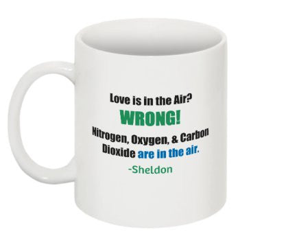 """Love is in the Air? Wrong!"" - Mug Default Title - LabRatGifts - 1"