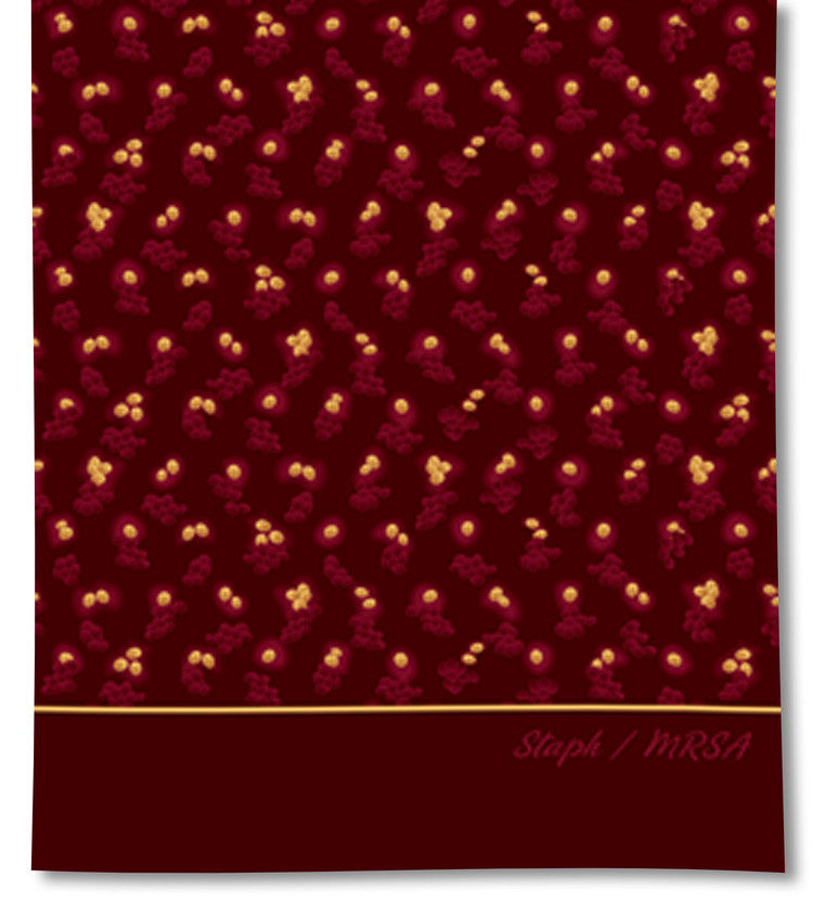 Infectious Awareables™ MRSA Scarf Default Title - LabRatGifts - 2
