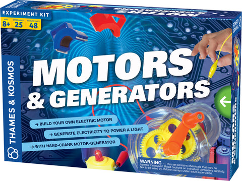 """Motors & Generators"" - Science Kit  - LabRatGifts - 1"